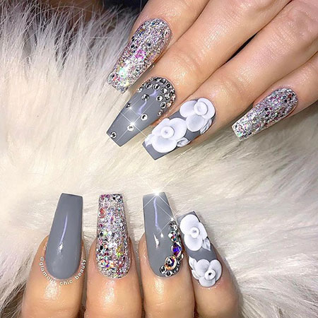 Nail Nails Chic Luxury