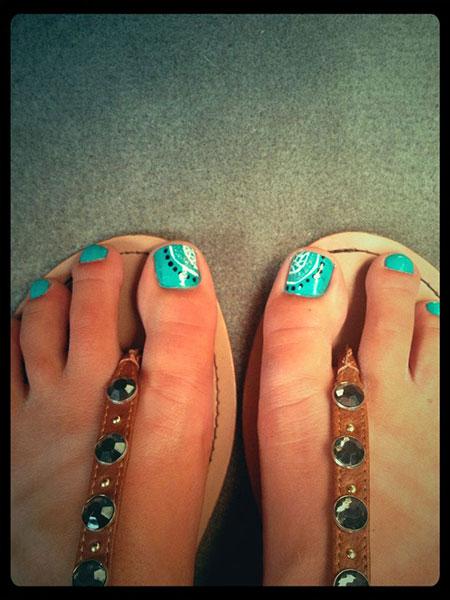 Toe Nail Summer Toenail