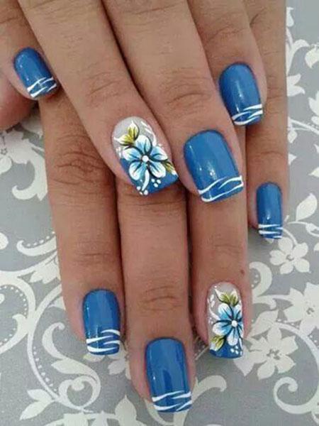 Nails Nail Blue Pretty