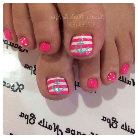 Nail Toe Pink Pedicure