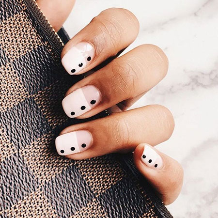 Dot Nail Manicure Nails