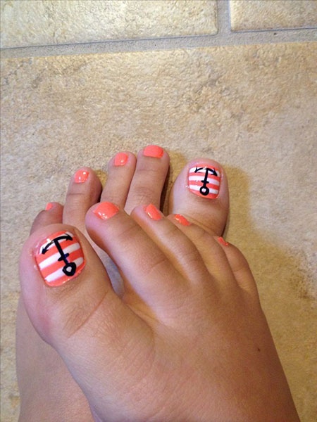 Toe Anchor Nail Nails