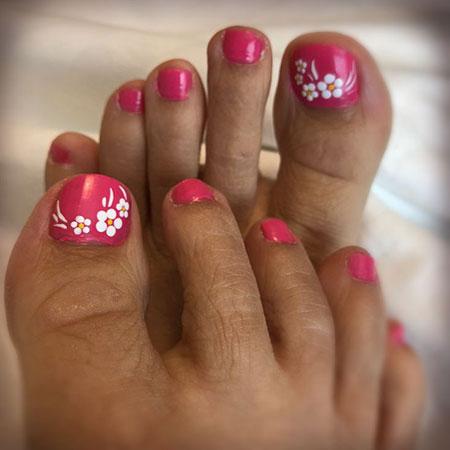 Nail Toe Art Easy