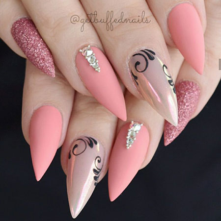 Nails Nail Stiletto Spring
