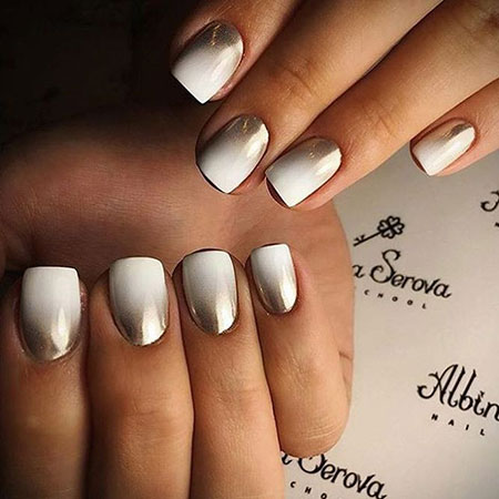 Chrome Nails, Manicure Nail Ombre Nails
