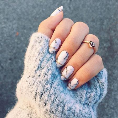 Nail Gold Design Nails