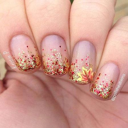Nail Fall Nails Glitter