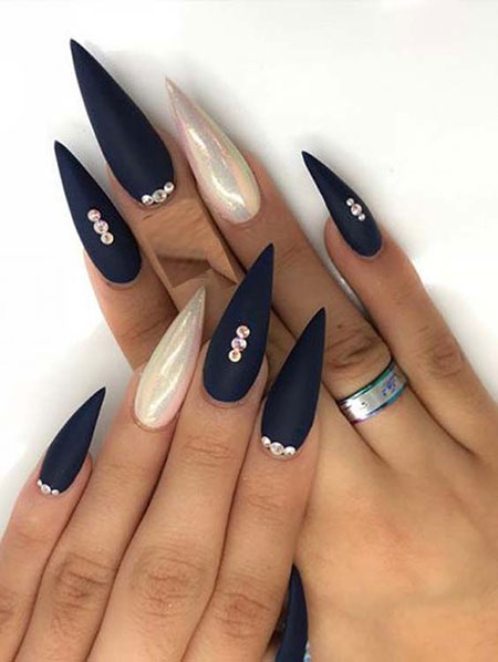 Nails Nail Long Stiletto