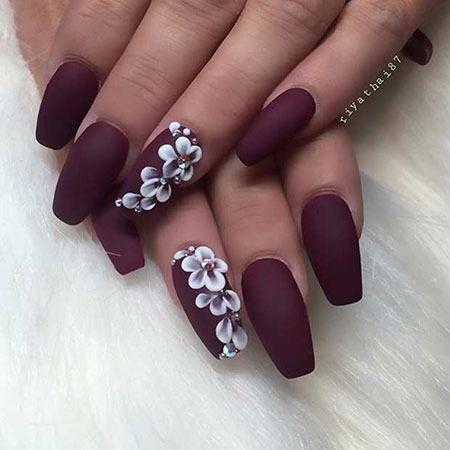 Matte Nail Designs Coffin, Matte Nail Nails Coffin