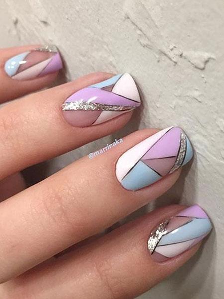 Geometric Nail Art, Nail Design Nails Art