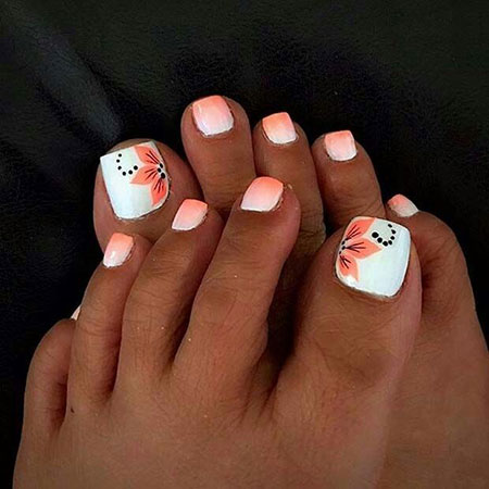 Toe Nail Design for Summer, Nail Toe Summer Design
