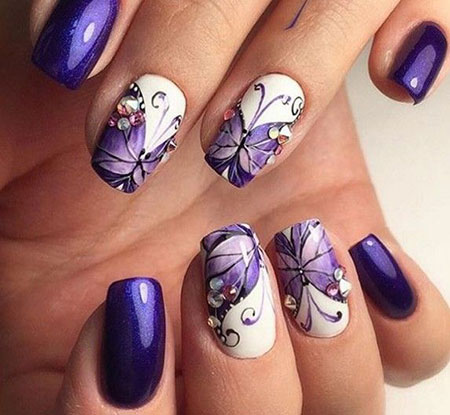 Nail Butterfly Nails Pretty