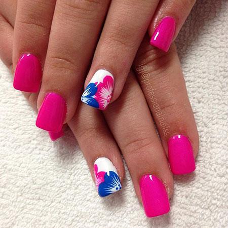 Nail Nails Flower Abstract