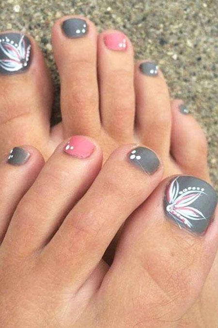 Nail Toe Toes Pretty