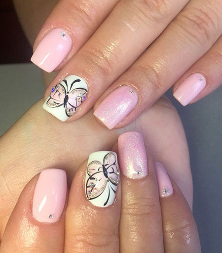 Nail Butterfly Nails Design