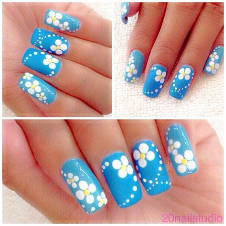 Nail Nails Photo Daisy