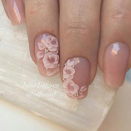 Nail 3D Design Love