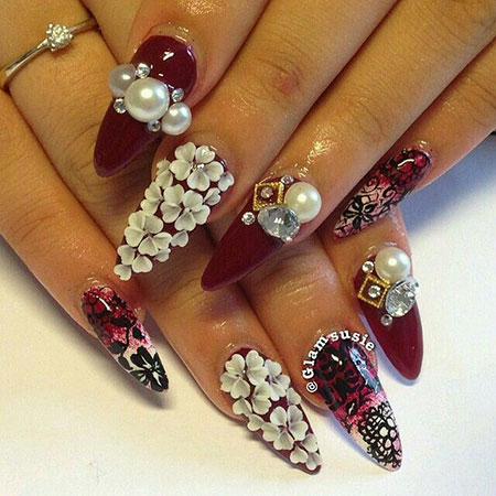 Nail Nails 3D Beauty