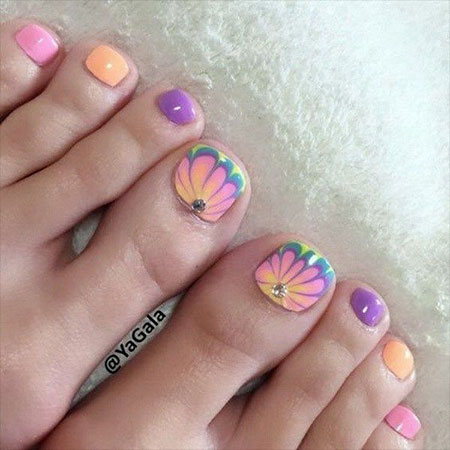 Nail Toe Pretty But