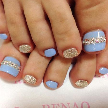 Nail Toe Toenail Blue