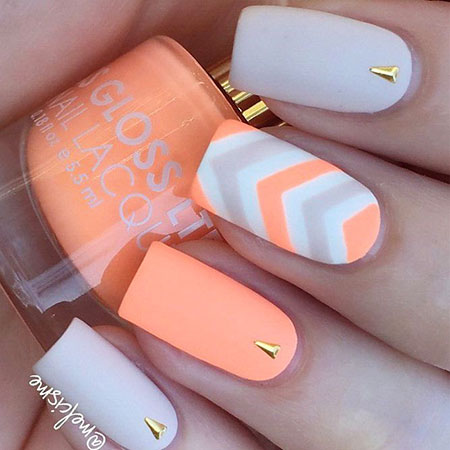 Pretty Nails, Matte Manicure Love Girl