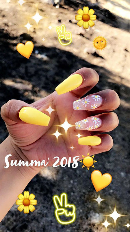 25 Yellow Color Nail Art Designs Nail Art Designs 2017