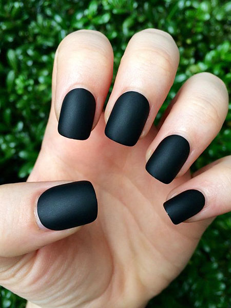 Matte Black Polish Fake