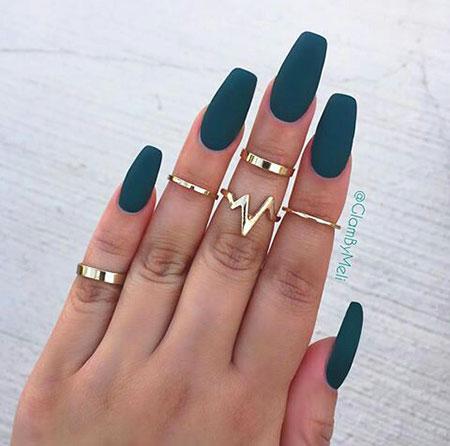 Acrylic Matte Green Beautiful