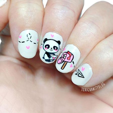 Panda High Love Cute
