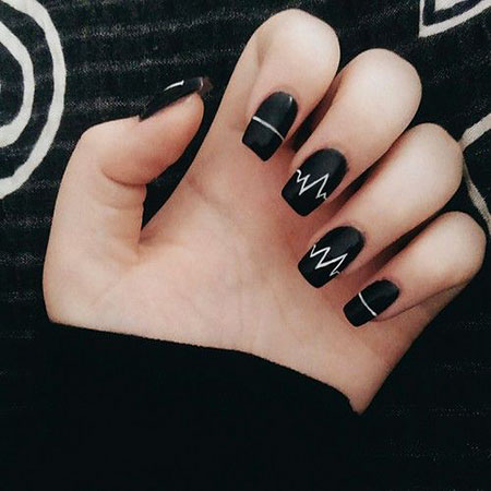 Manicure Black Unique Images