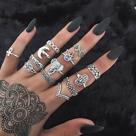 Rings Ring Fashion Lune