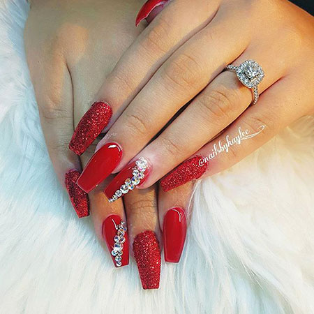 Red Coffin Polish Candy
