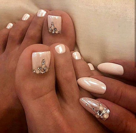 Toe Bridal Manicure Pedicure