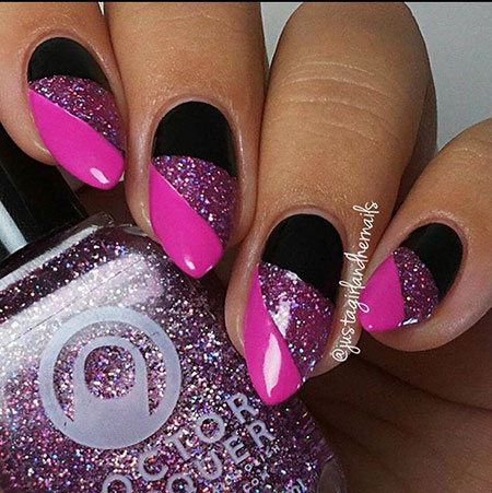 Pink Manicure Easy Black
