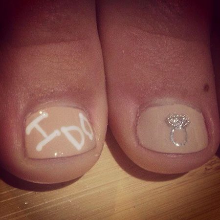 Bridal Toe Wedding Pedicure