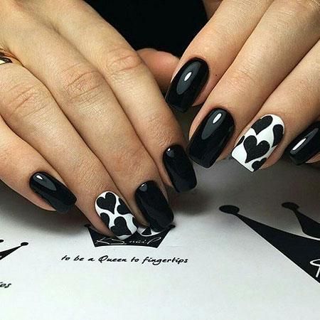 Black White Manicure Year