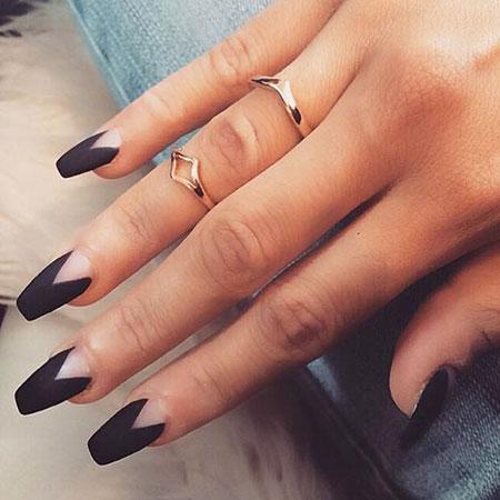 Matte Manicure Fall Trend