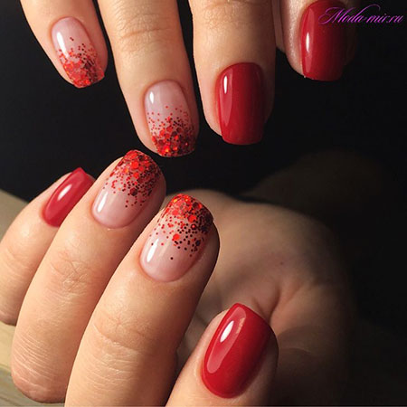 Manicure Red 2017 Ideas