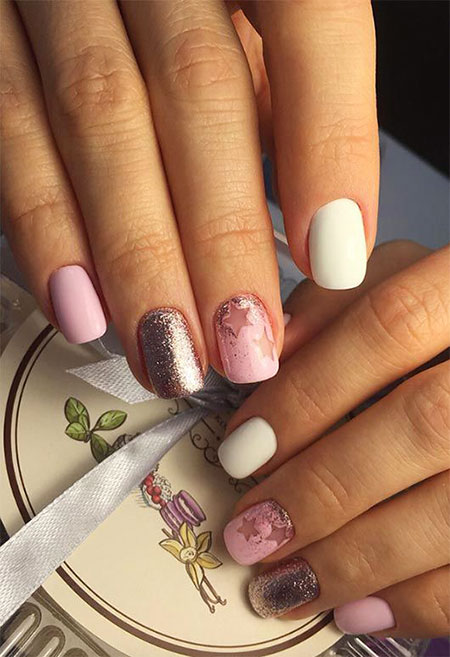Manicure Short Creative Different