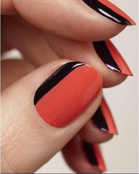 Manicure French But Fancy