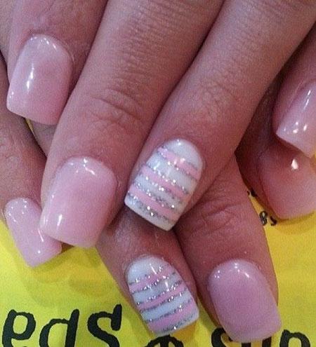 Pink Pretty Spring Glitter