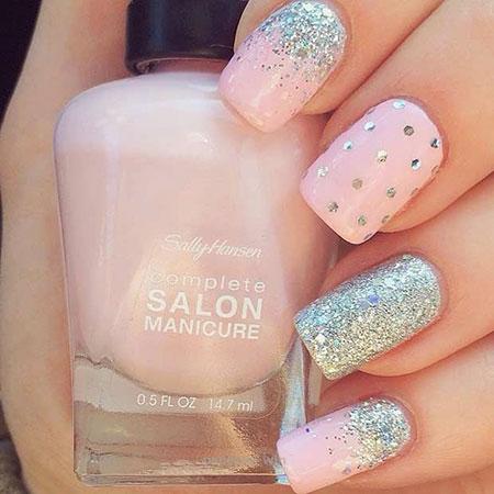 Pink Bright Summer Manicure