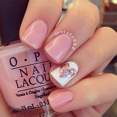 Short Ideas Manicure Pink