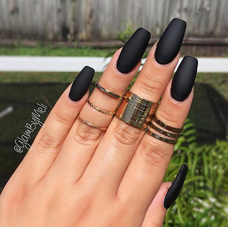 Matte Black Acrylic Ideas