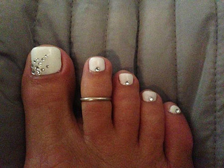 Easy Toe Nails, Toe Pedicure Ideas Images