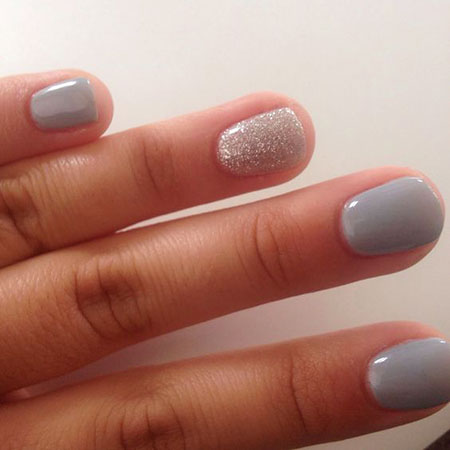 Gel Short Nails, Gel Short Polish Manicure