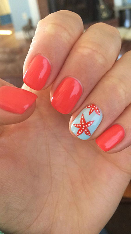 Cute Summer Nails, Summer Ideas 2017 Awesome