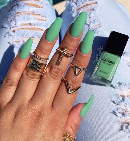 Coffin Summer Green Perfect