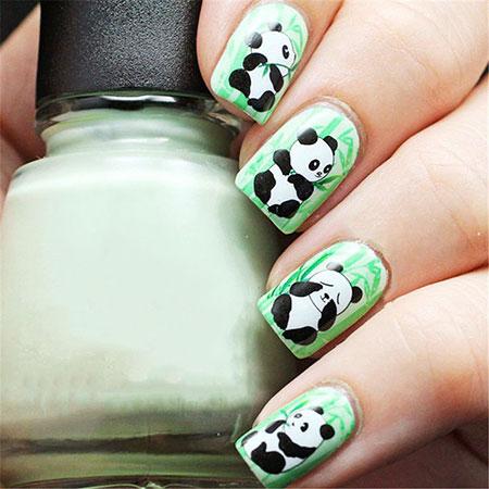 Panda Manicure Cat Water