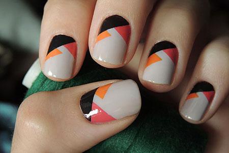 Patterns Geometric Manicure Modern